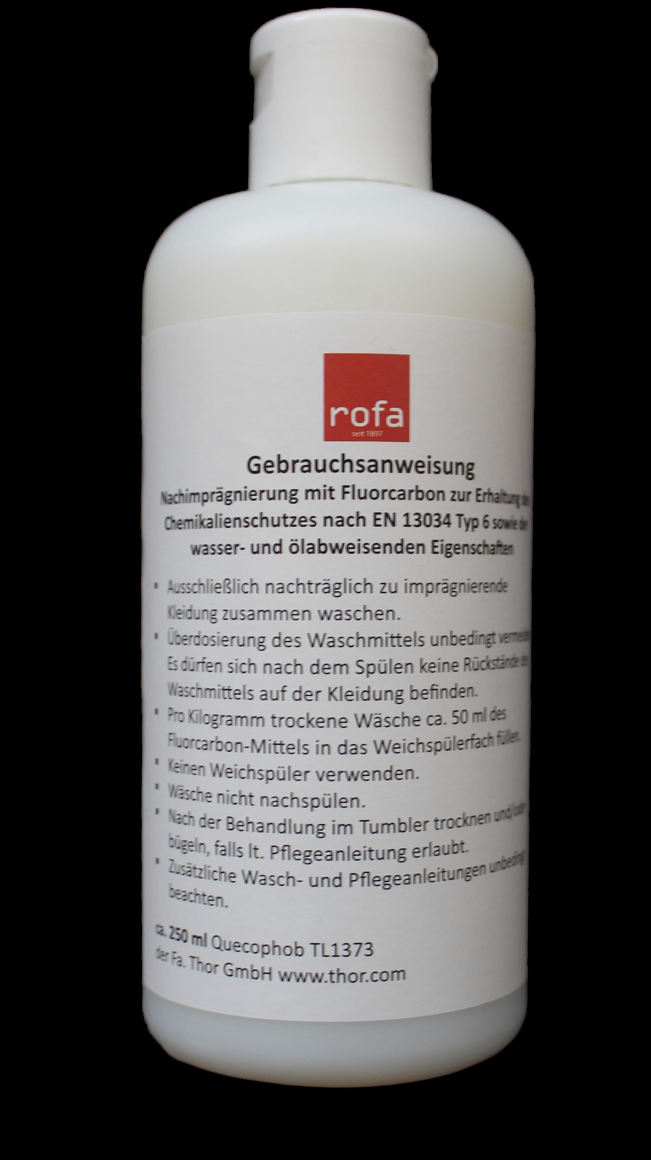 ROFA-Tex® FC-Imprägnierung