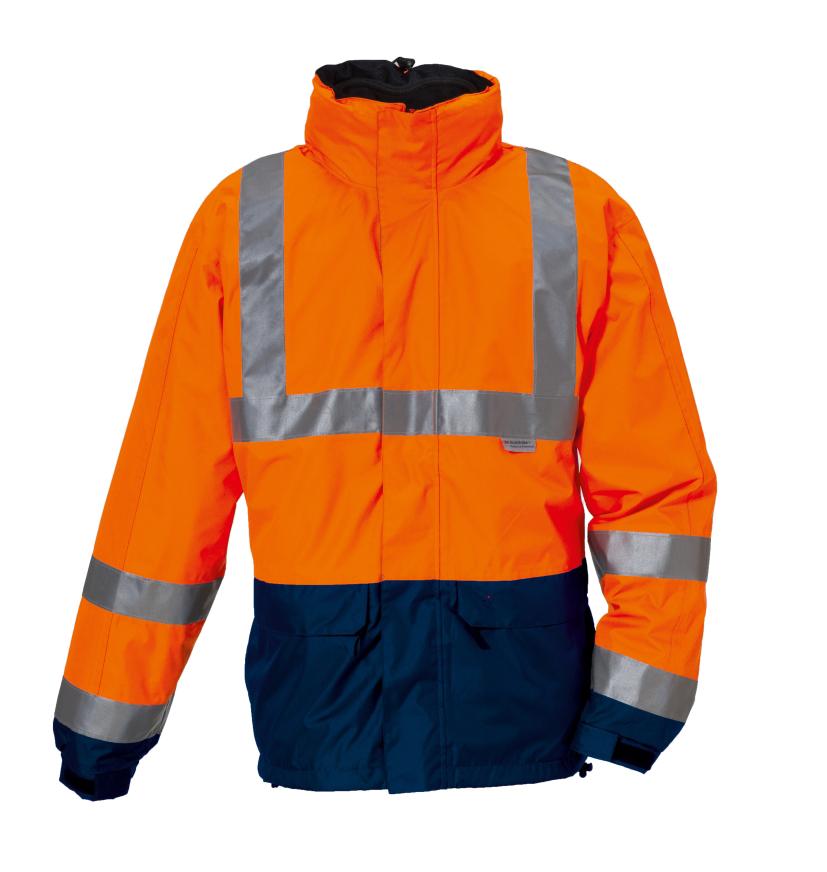 Warn- und Wetterschutzjacke J409w
