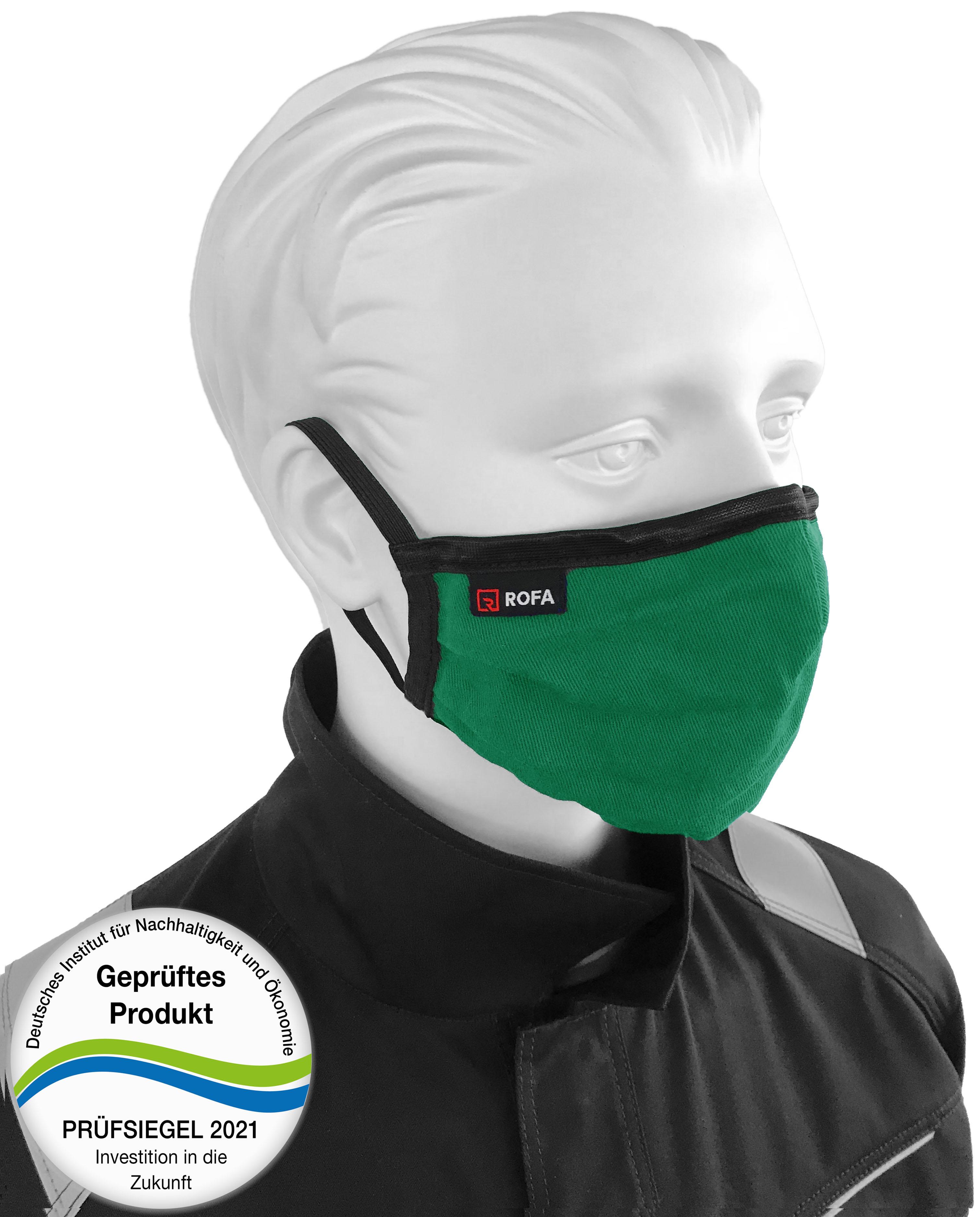 Mund-Nasen-Maske mit Gummi