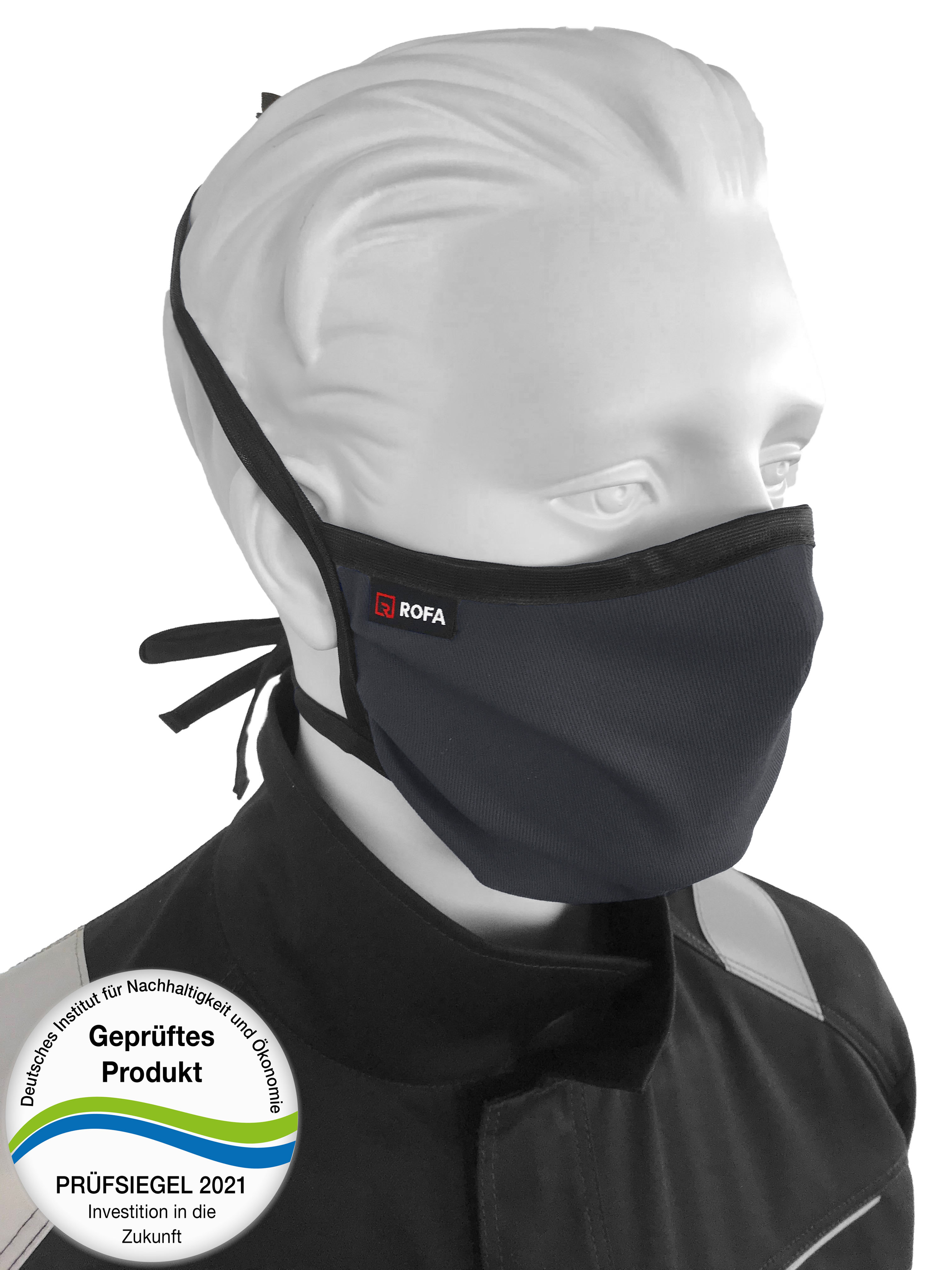 Mund-Nasen-Maske zum Binden