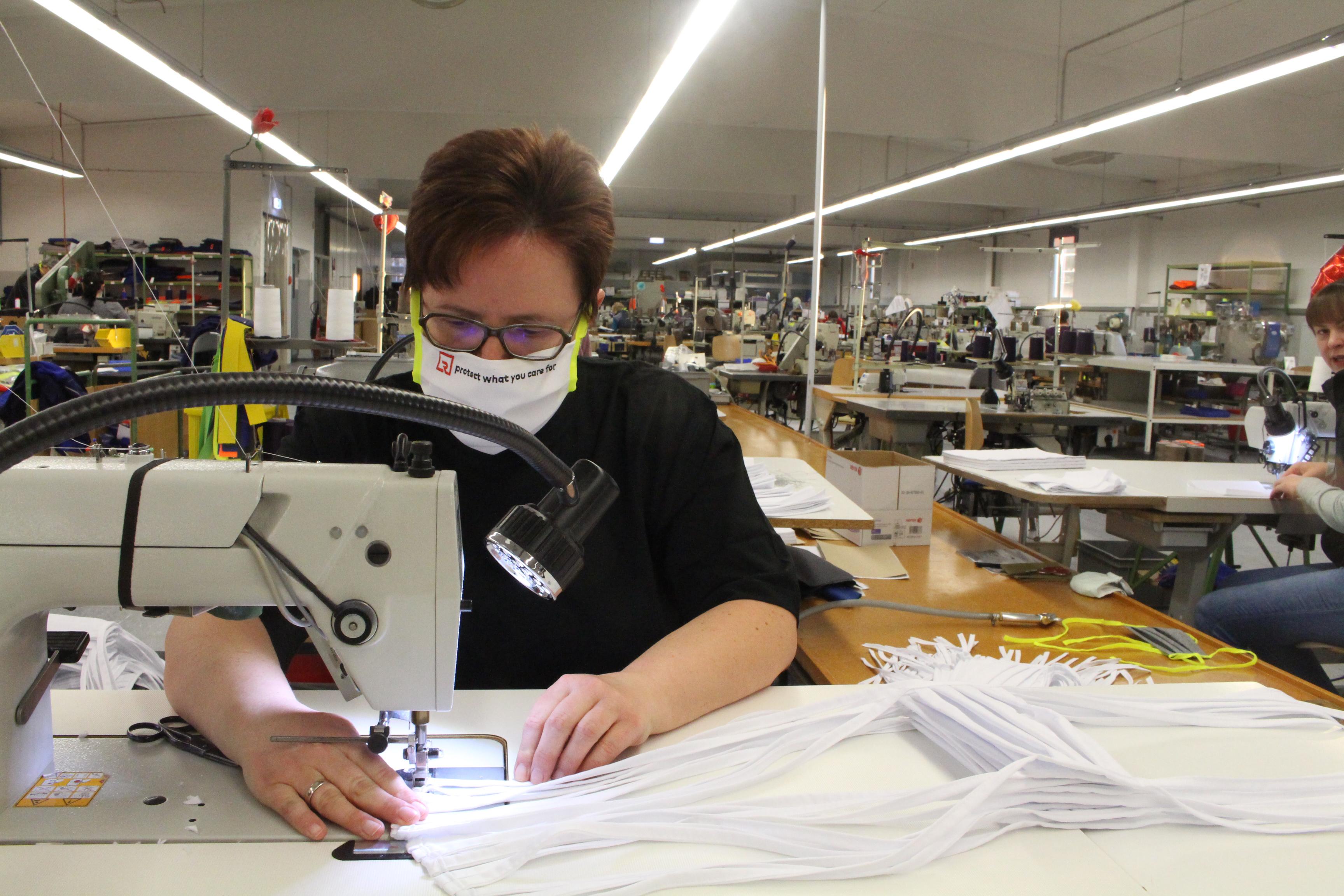ROFA beginnt Produktion von Mund-Nasen-Masken